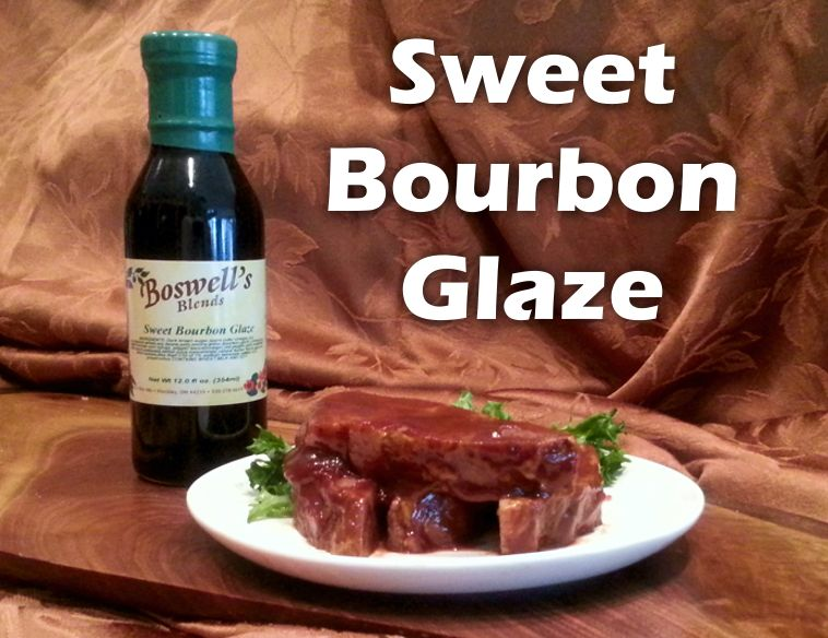 Sweet Bourbon Glaze